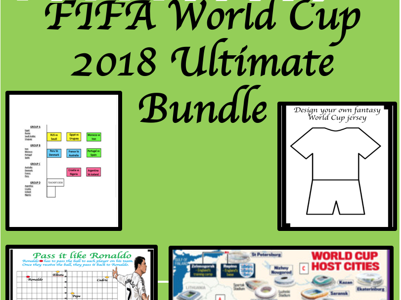 FIFA World Cup 2018: The Ultimate Bundle
