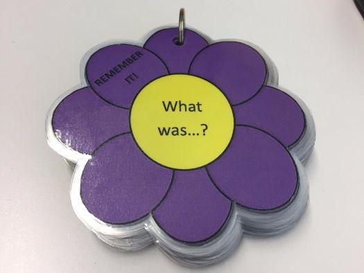Blooms Flower Questioning Fan