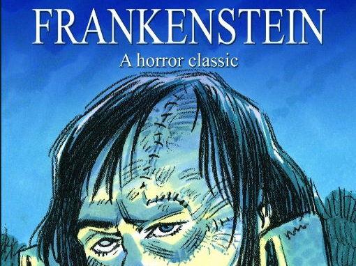 Frankenstein retold by Pauline Francis work-booklet.