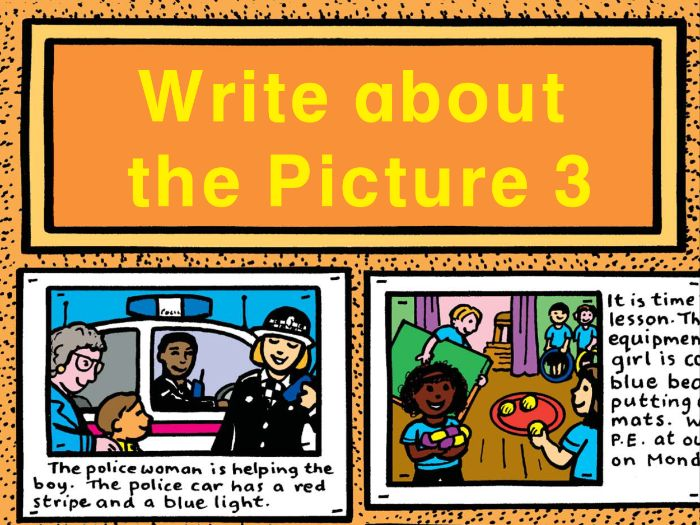 WRITE ABOUT THE PICTURE BOOK 3