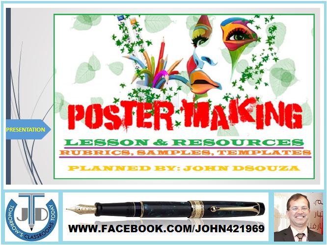 POSTER MAKING: PRESENTATION