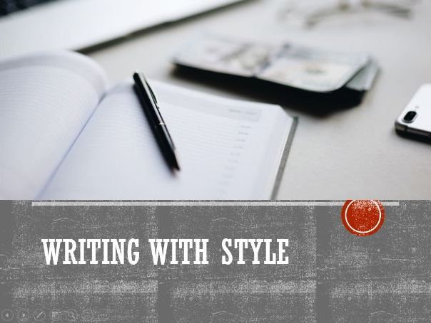 Writing with Style at GCSE