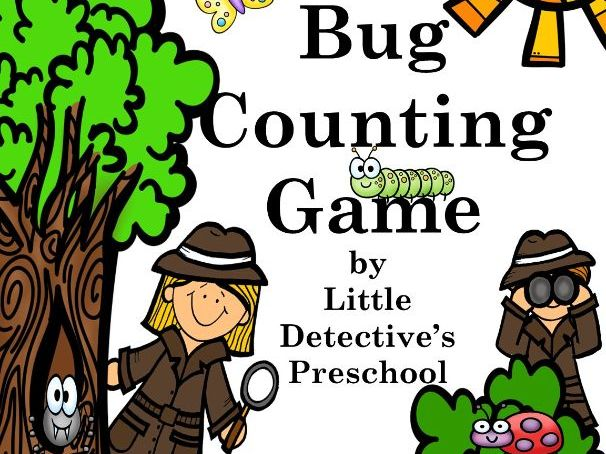 Insect Math Numbers & Counting Game