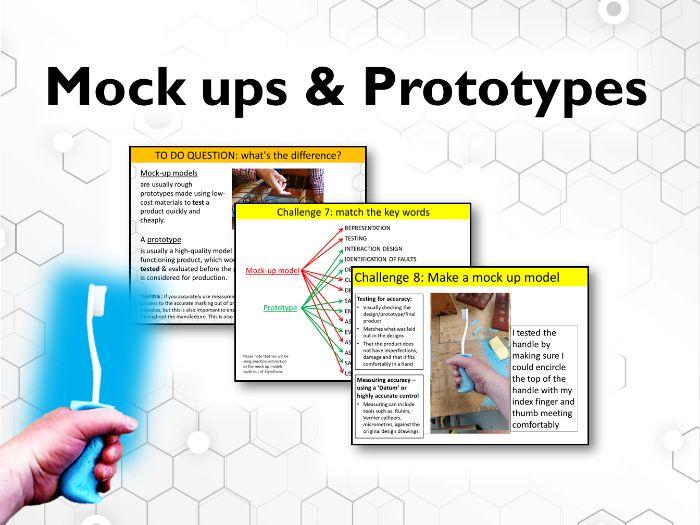 Mock ups & Prototype practical & theory