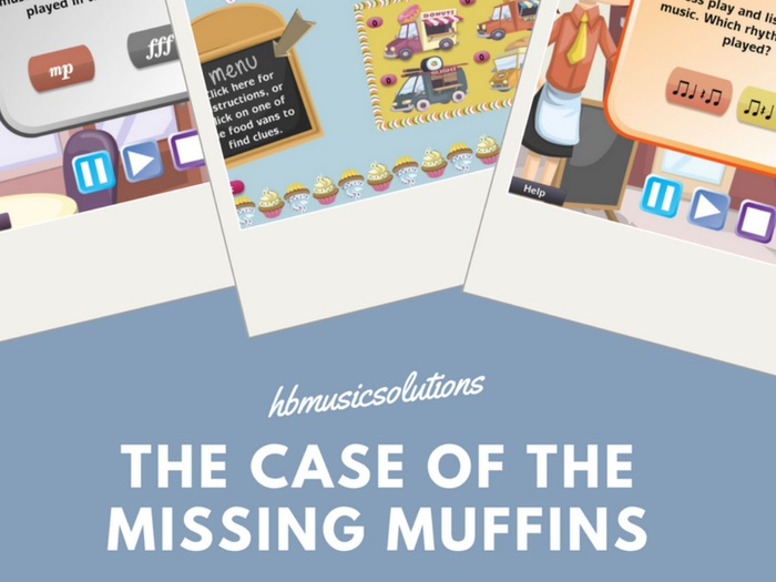 The Case Of The Missing Muffins - Music Interactive Game