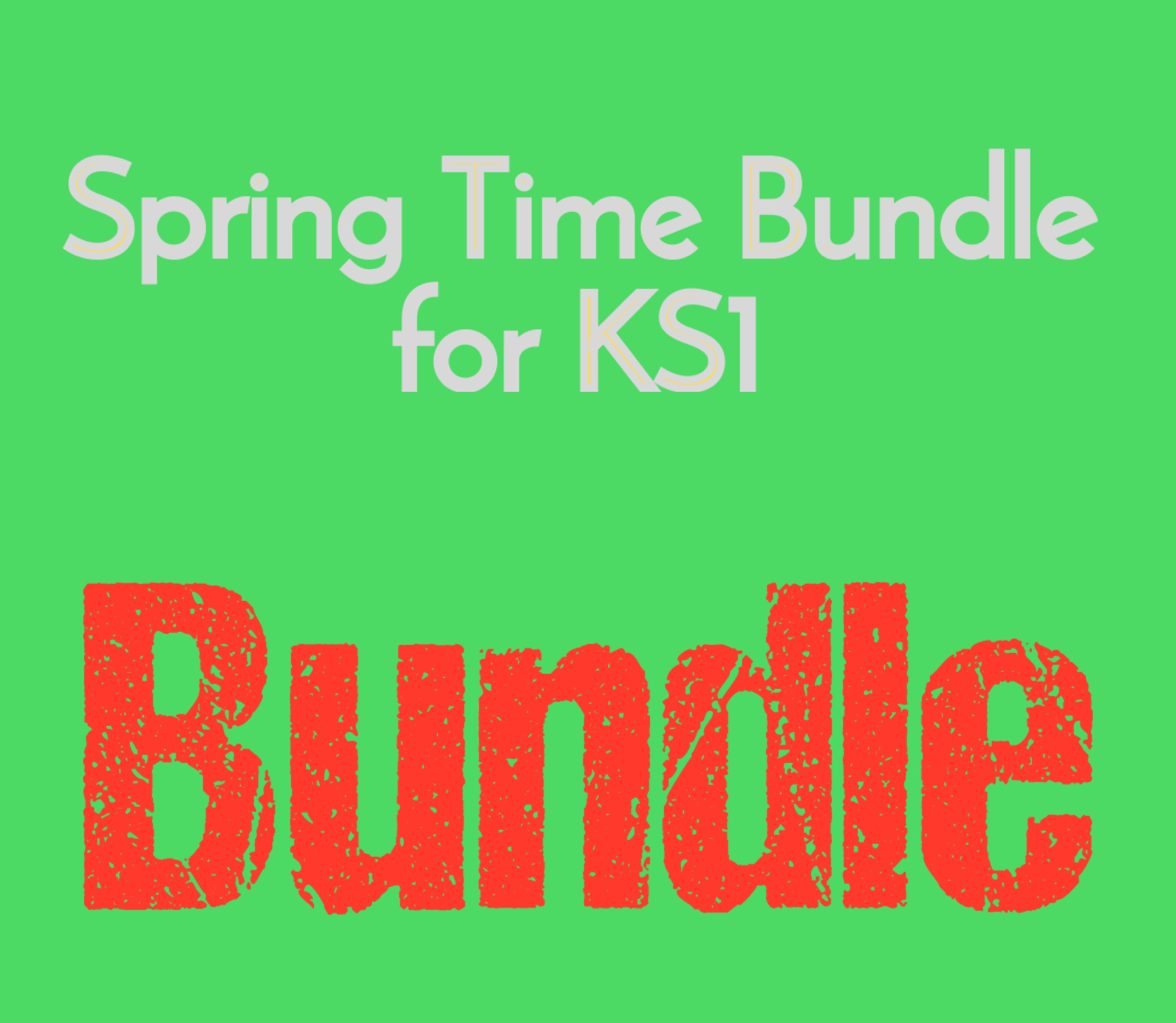 Spring Time Bundle for KS1