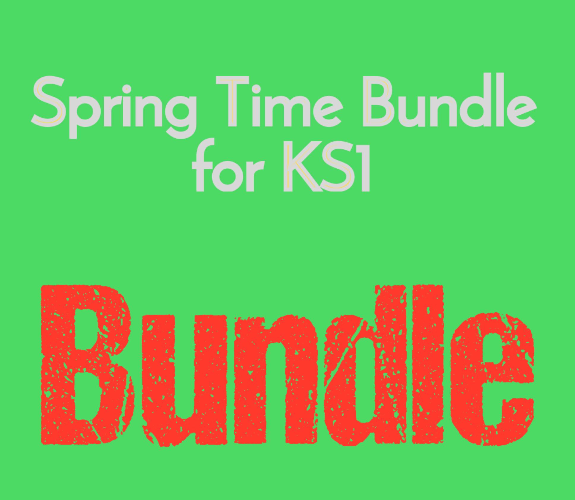 Spring Time Bundle for KS1