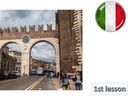 NEW  ITALIAN GCSE RESOURCES TOPIC I (Identity & Culture)