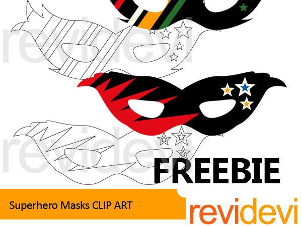 Masks clip art free