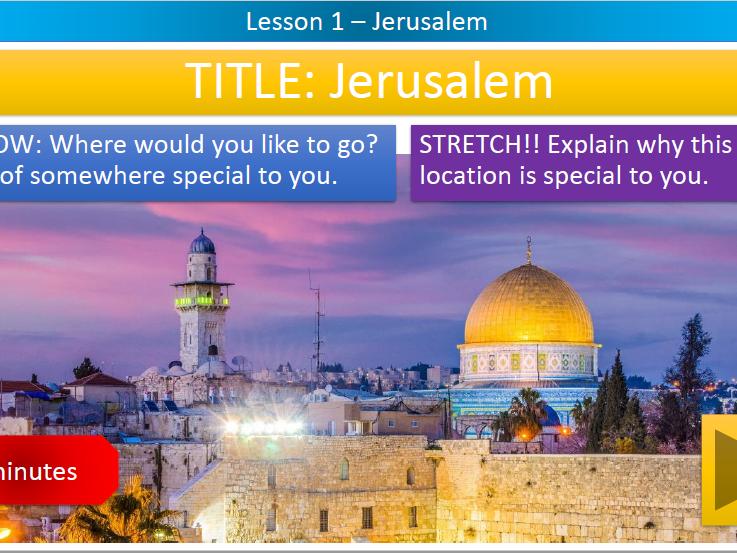 KS3 - HOME LEARNING - Sacred Spaces: Jerusalem