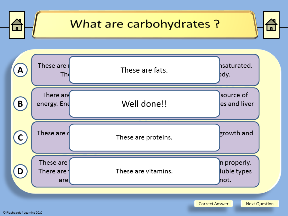 GCSE PE: Diet & Nutrition - Multiple Choice by Hurstbournefield ...