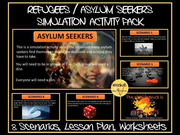 Refugee Simulation  Pack