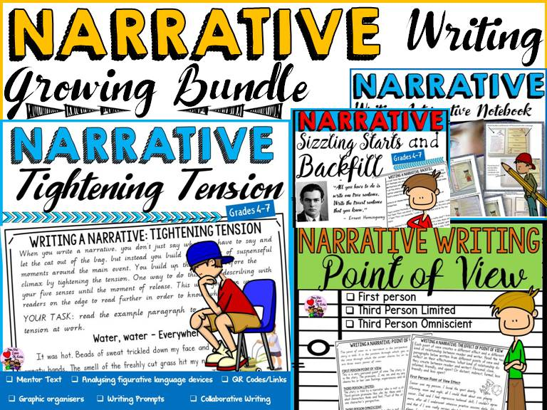 NARRATIVE WRITING GROWING BUNDLE
