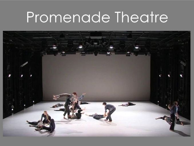 Promenade Theatre Design