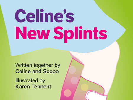 Celine's New Splints storybook