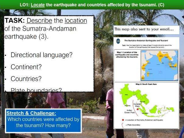 Indian Ocean Tsunami 2004 Lesson -