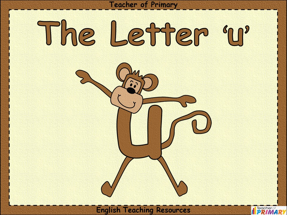 The Letter 'u'