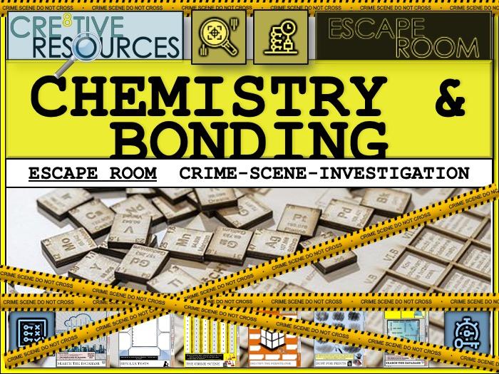 Bonding - Chemistry Escape Room