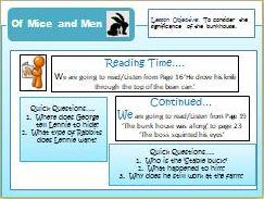 Of Mice and Men - Full scheme of work - KS3