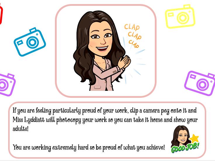 Take a Selfie - display or take work home - editable version