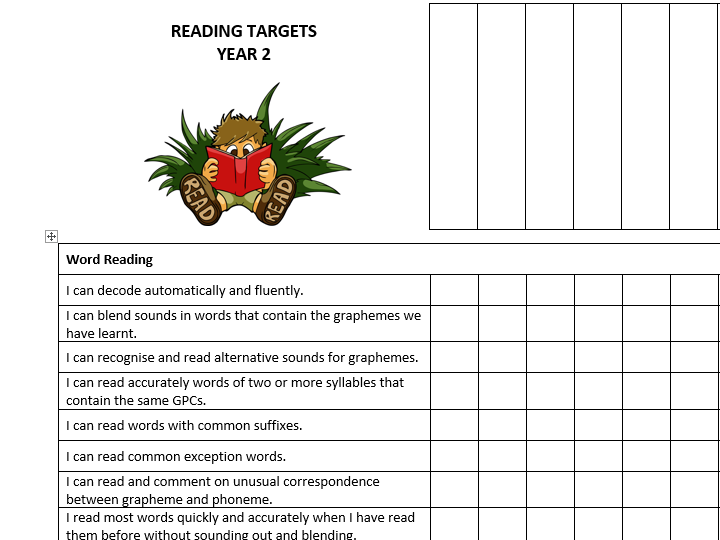 Yr2 Reading Group Records