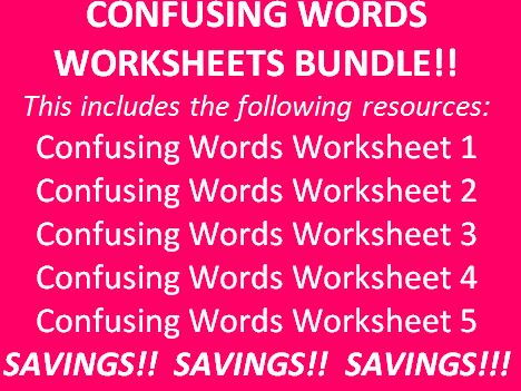 Place Value Worksheets Decimals Word Confusing Words Worksheet  By Myresourcesgalore  Teaching  2nd Grade Clock Worksheets Excel with Household Cash Flow Worksheet Pdf Confusing Words Worksheet  By Myresourcesgalore  Teaching Resources  Tes Protons Neutrons And Electrons Practice Worksheet Answers Word