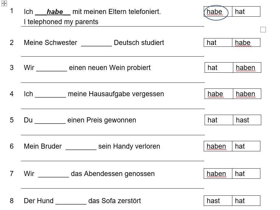 A Step-By-Step Guide To The Perfect Tense In German