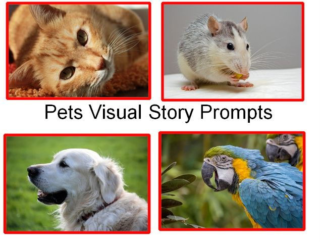 Pets Presentation + Pets Creative Writing Visual Story Prompts + 31 Fun Classroom Activities To Try