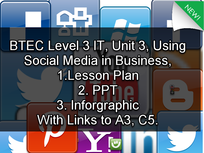 Level 3 IT, Unit 3 Using Social Media in Business Lesson: FREE LESSON PLAN- Dealing with reviews.