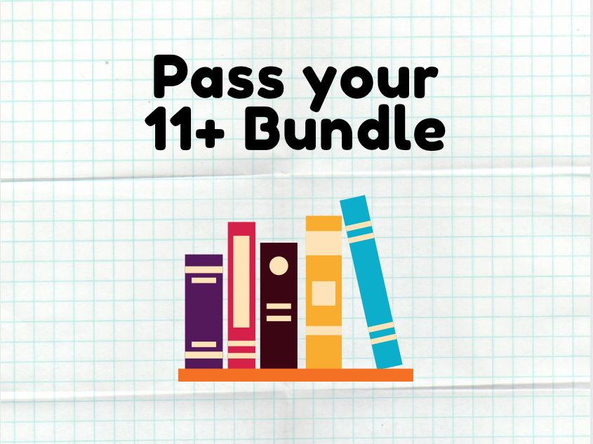 Pass your 11 Plus Bundle!