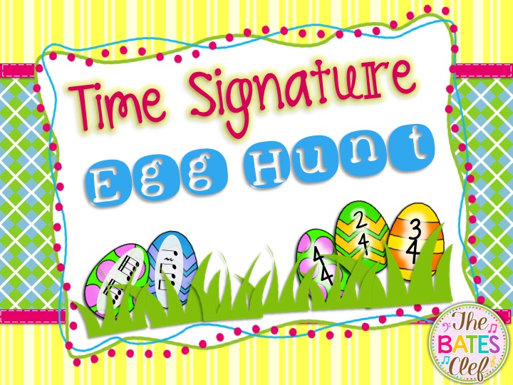 Time Signature Egg Hunt