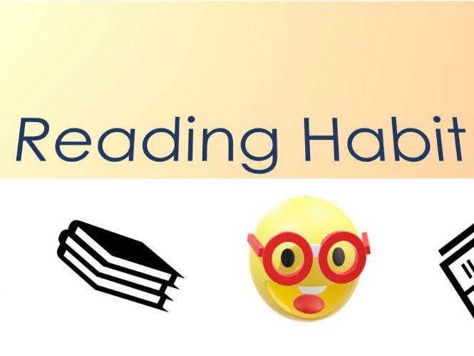 Reading Habit - a PowerPoint