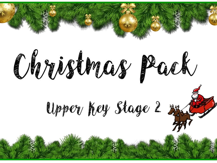 Christmas Pack - Upper Key Stage 2