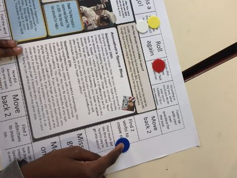 Reading Comprehension Games - KS2 Year 6. SATS style questions made fun.