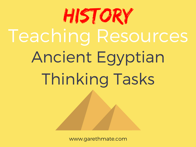 Ancient Egyptian - Thinking Tasks