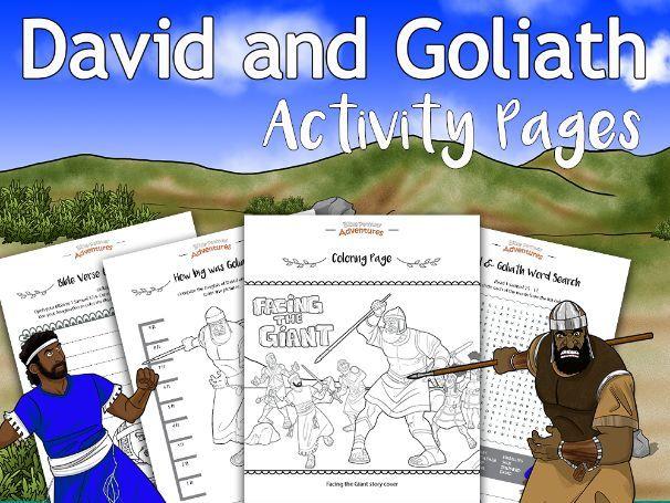 David & Goliath Activity Book FREEBIE