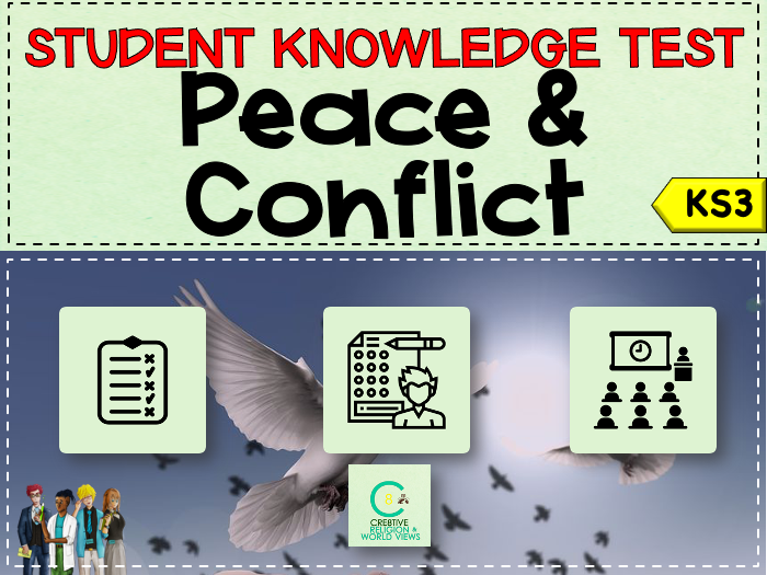 Peace + Conflict Topic Test
