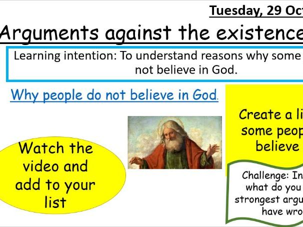 Arguments against the existence of God
