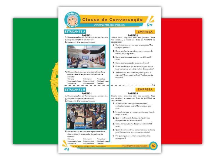 Empresa - Portuguese Speaking Activity