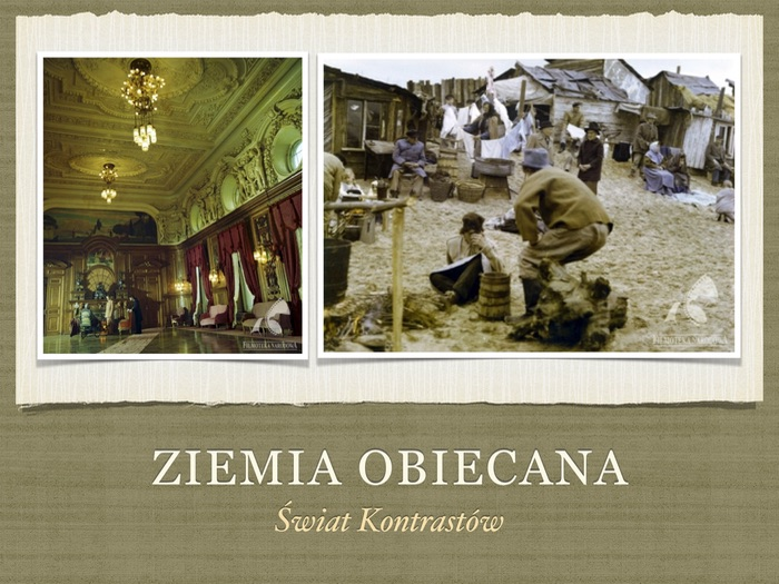 A-level Polish Film Ziemia Obiecana