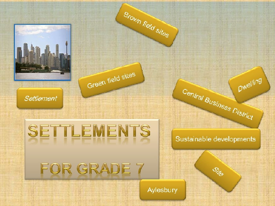Everything you need to know about settlements for grade 7