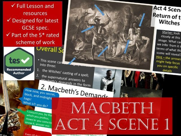 Act 4 Scene 1 Macbeth GCSE English Literature 9-1