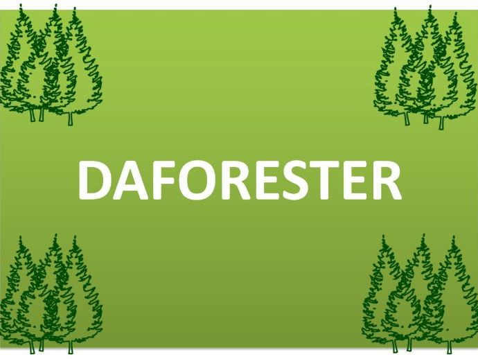 DAFORESTER Display Posters