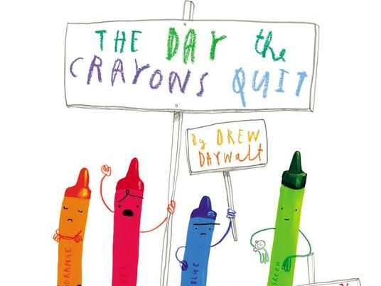 Y5/Y6 The Day The Crayons Quit - PLANNING and RESOURCES