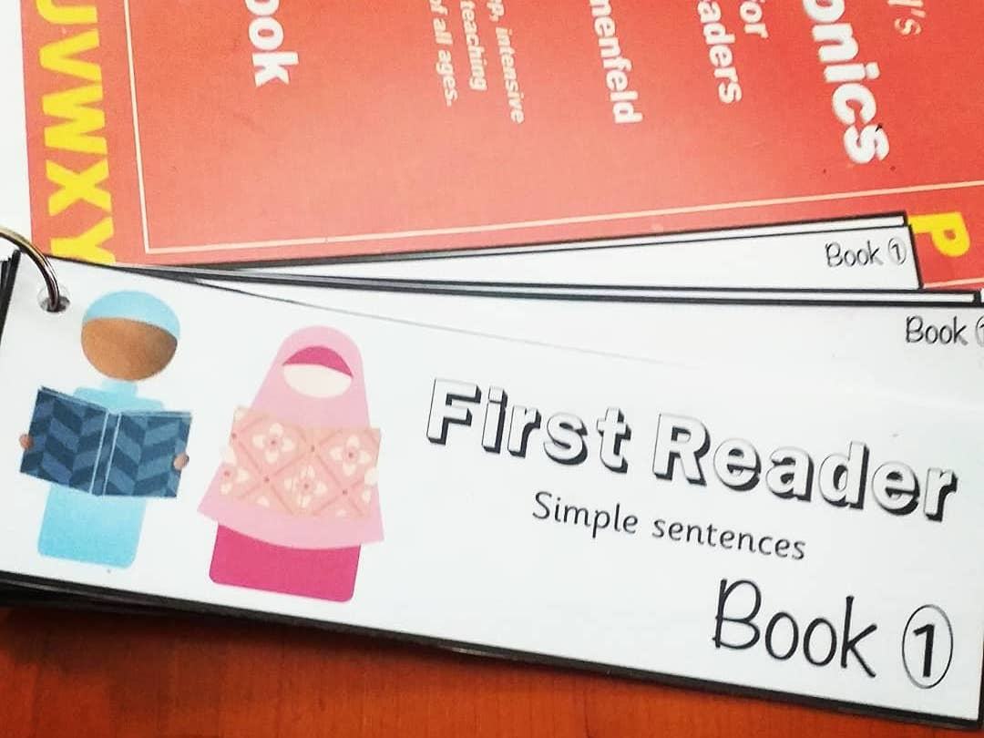 FREE first reader sentence book 1 alpha phonics