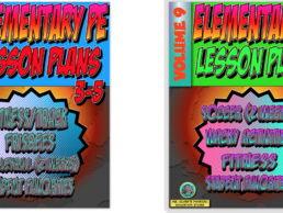 K-5 PE Lesson Plan Volume 9 Bundle
