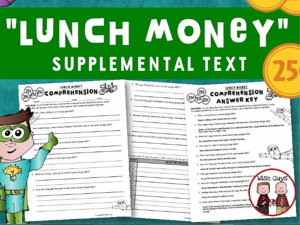 Lunch Money Reading Comprehension Questions