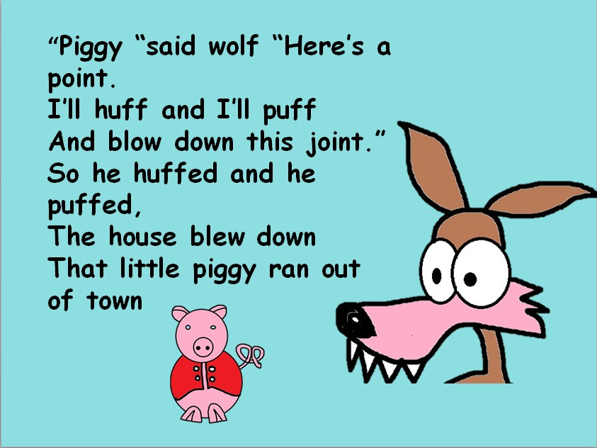 Three little pigs  Song with  Mp3s,  video, PPT,  worksheet, percussion. Non specialist friendly