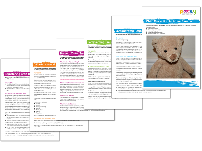 Child Protection ¦ Factsheet bundle