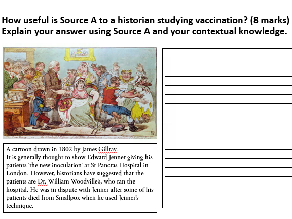 AQA GCSE 9-1 - The Health and the People - Exam Question Booklet